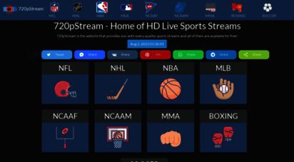 720pstream.me - 720pstream nfl, nhl, nba, mlb sports streaming online