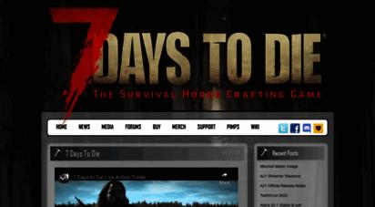 7daystodie.com - 7 days to die  the survival horde crafting game
