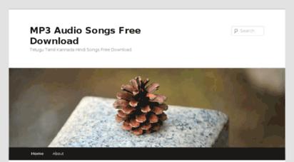 Welcome to 7mp3songs wordpress com - MP3 Audio Songs Free