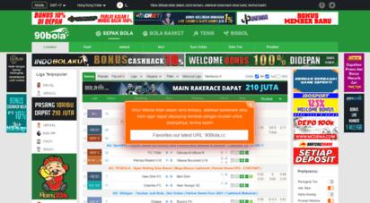 90bola.top - 90bola: live skor sepak bola, jadwal dan hasil