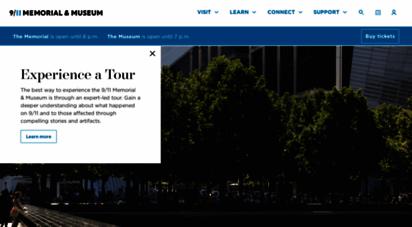 similar web sites like 911memorial.org