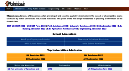 99admissions.in - www.99admissions.in