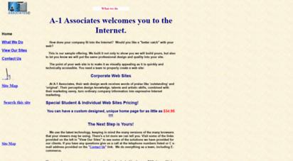 a-1associates.com - a-1 ssociates home page