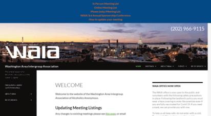aa-dc.org - washington area intergroup ssociation