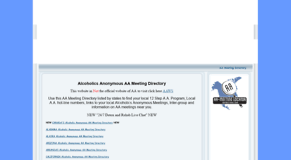 aa-meetings.com - aa-meetings is a solution-based online recovery community.