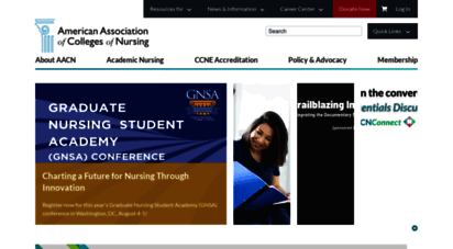 aacnnursing.org - the american ssociation of colleges of nursing aacn homepage