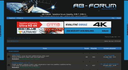 ab-forum.info - ab-fórum - satelitné frum satelity, dvb-t, dvb-c - obsah fra