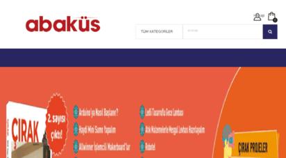 abakuskitap.com - abaküs kitap - türkiye´nin bilişim kaynağı