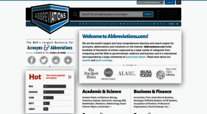 abbreviations.com - abbreviations.com