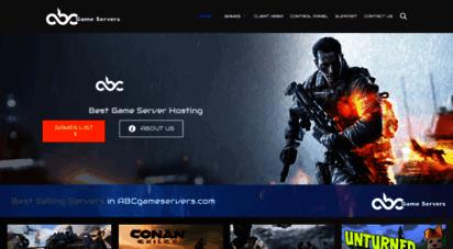 abcgameservers.com - abc game servers - game server hosting