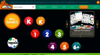 abcya.com - abcya! • educational computer games and apps for kids