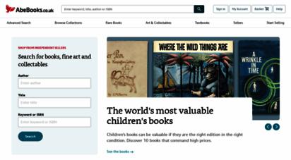 abebooks.co.uk - abebooks  shop for books, art &amp collectables
