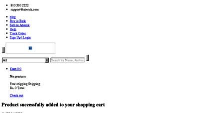 aberuk.com - online shopping at aberuk  india´s largest used & new books marketplace  buy used books online - aberuk