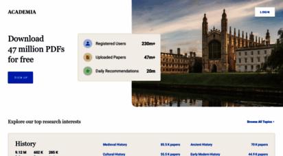 academia.edu - academia.edu - share research