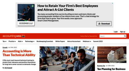 accountingweb.com - a community site for tax and accounting professionals  accountingweb