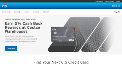 accountonline.com - browser warning- citibank