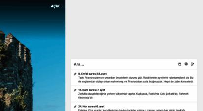 acikkuran.com