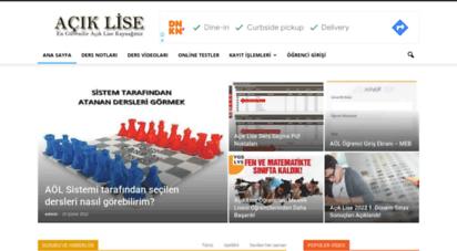 aciklise.com.tr