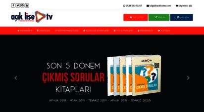 aciklisetv.com - açık lise tv - online açık lise hazırlık dersleri