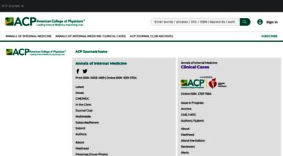 acpjournals.org -
