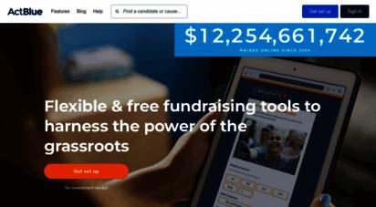 actblue.com - actblue — billions raised online since 2004