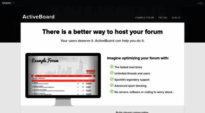 activeboard.com - forum hosting, create a forum with activeboard.com