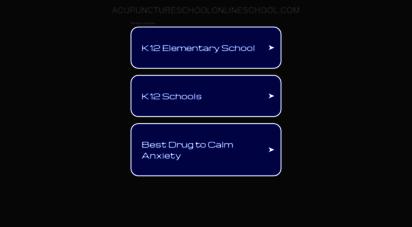 acupunctureschoolonline.com