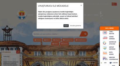 adana.bel.tr - adana büyükşehir belediyesi
