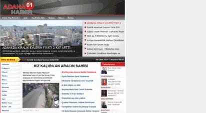 adana01haber.com - adana´nın en büyük internet gazetesi