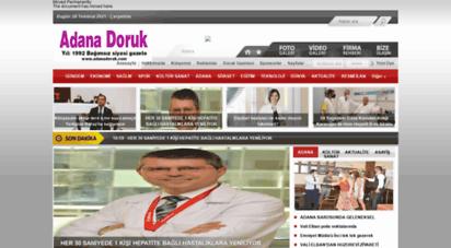 adanadoruk.com - doruk gazetesi