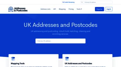 addressesandpostcodes.co.uk