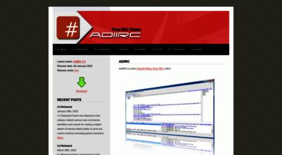 adiirc.com - adiirc irc client