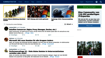 administrator.de - it-wissen, forum und netzwerk - administrator