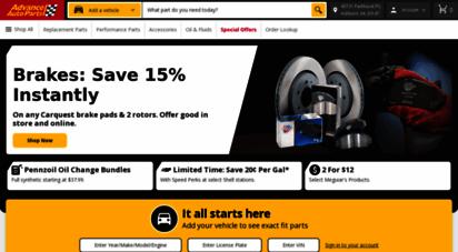 advanceautoparts.com -
