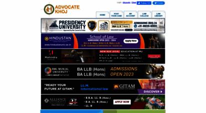 advocatekhoj.com - find lawyers  advocates  legal service in india - advocatekhoj