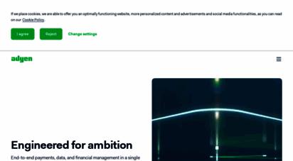adyen.com - adyen  die payment-plattform, die für wachstum gebaut ist