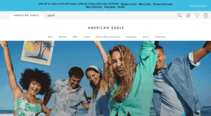 ae.com - american eagle outfitters men´s & women´s clothing, shoes & accessories