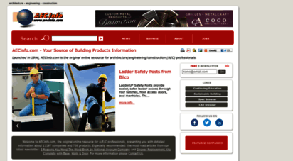aecinfo.com - aecinfo.com - your source of building products information
