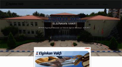 aemtem.org.tr - elginkan vakfı, ahmet elginkan mesleki ve teknik eğitim merkezi - kocaeli
