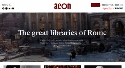 aeon.co - aeon  a world of ideas