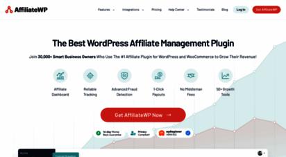 affiliatewp.com - affiliatewp - affiliate plugin for wordpress