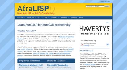 afralisp.net - learn autolisp for autocad productivity  afralisp