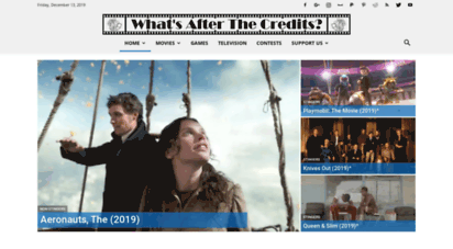 aftercredits.com - what´s after the credits?