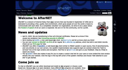 afternet.org - afternet - home