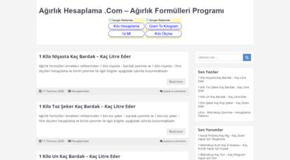 agirlikhesaplama.com