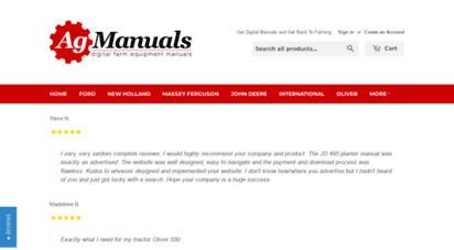 agmanuals.com - ag manuals - a provider of digital farm manuals