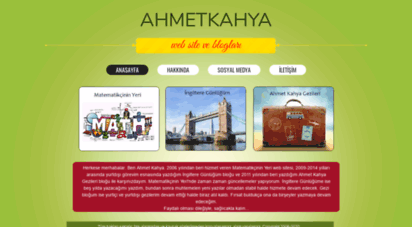 ahmetkahya.com - matematikçinin yeri