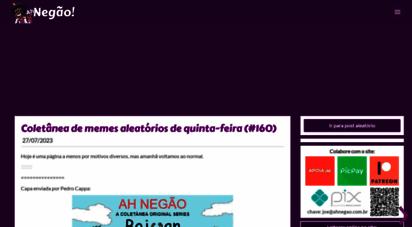 ahnegao.com.br - ah negão!