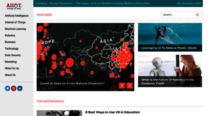 aiiottalk.com - aiiot talk - future of tech - artificial intelligence  iot  robotics