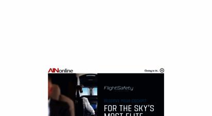 ainonline.com - aviation international news  business, air transport, defense & general aviation news